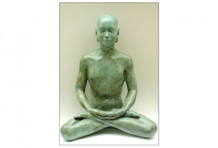 Bronze Buddha Sculpture - 'Meditation'