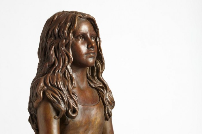 Bronze Sculpture of 'Child of Hope'