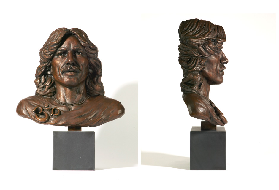 George Harrison Side view