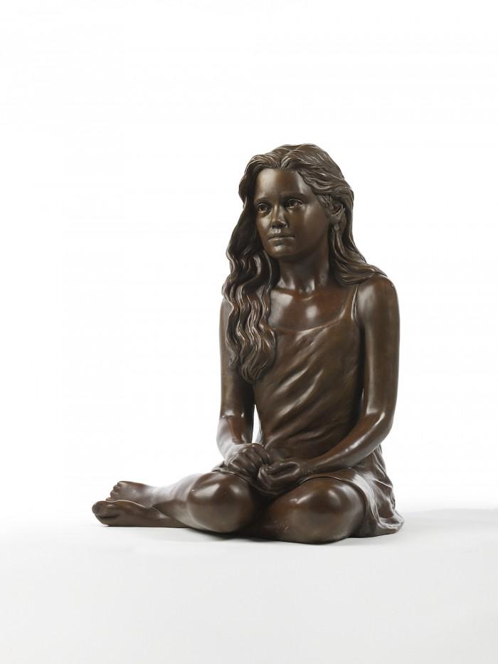 Bronze Sculpture of 'Child of Peace'