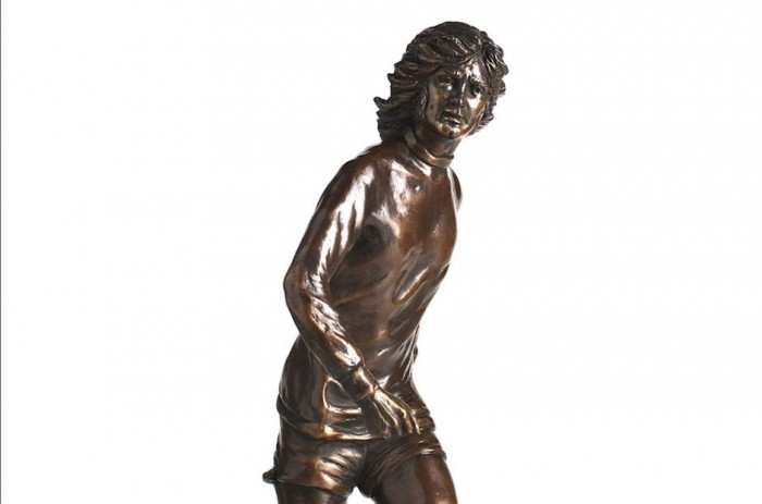 George Best Bronze Figurine Sculpture