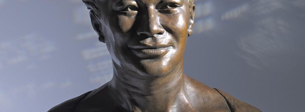 Ella Fitzgerald Bronze Portrait Bust