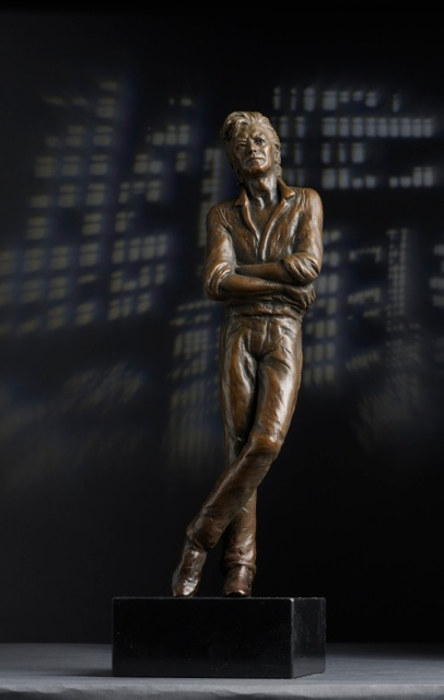 David Bowie Bronze Portrait Sculpture