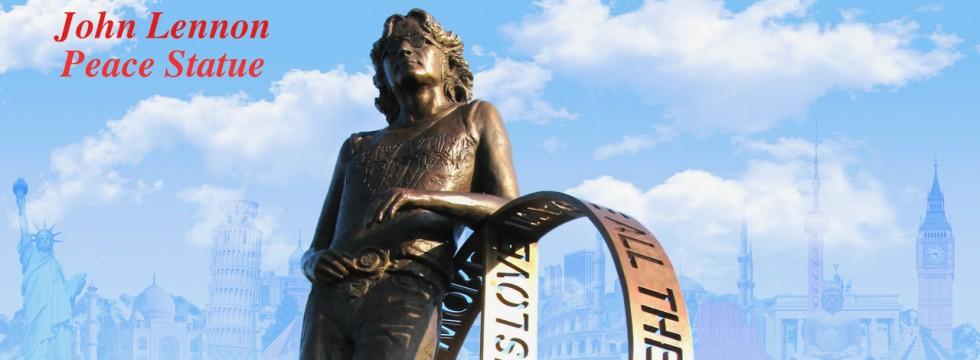 John Lennon Peace Statue