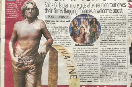 Press Release on John lennon peace Statue