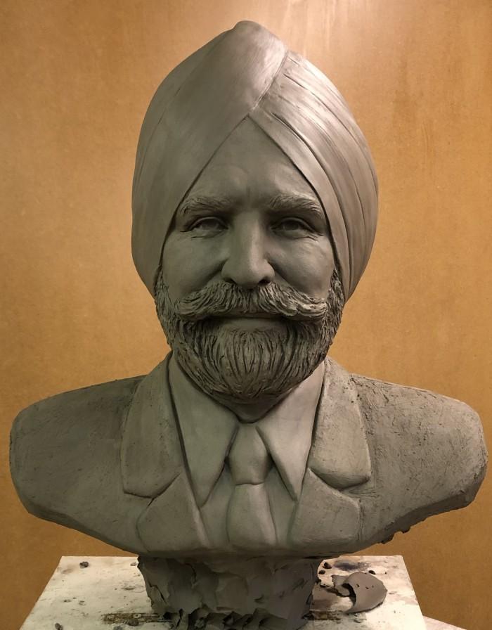 Portrait Bust of Sikh